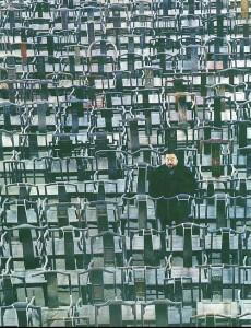 ai weiwei, 1001 stühle